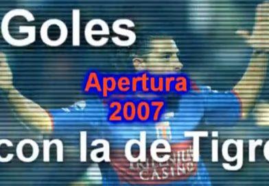 Video del día: Leandro Lazzaro Goles en Tigre – Apertura 2007