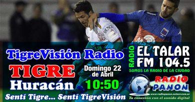 Tigre recibe a Huracán en otro partido clave