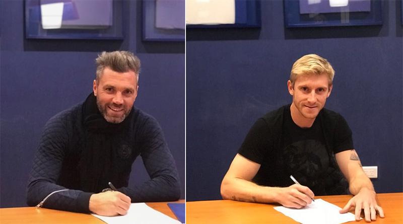 Chiarini y Caire renovaron contrato