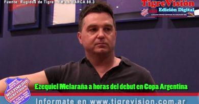 """Ezequiel Melaraña: """"Estoy satisfecho con el mercado de pases"""""""